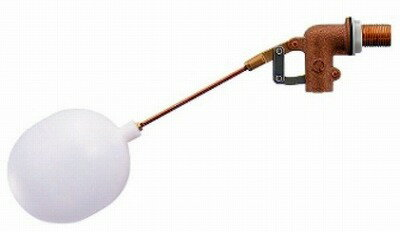 【最安値挑戦中!最大33倍】水栓金具 カクダイ 6609-25 複式ボールタップ(ポリ玉) [□]