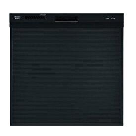 【最安値挑戦中!最大25倍】リンナイ RSW-404A-B 食洗機 ビルトイン 食器洗い乾燥機 幅45cm スライドオープンタイプ スリムデザイン ブラック [≦]