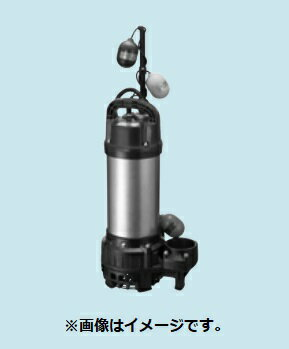 【最安値挑戦中!最大17倍】排水水中ポンプ テラル 65PV2T-51.5 50Hz 樹脂製 雑排水タイプ [■]
