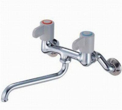 【最安値挑戦中!最大34倍】水栓金具 三栄水栓 K11-1-LH-13 ツーバルブ混合栓 [□]