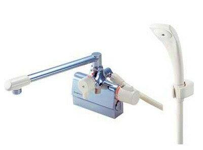 【最安値挑戦中!最大21倍】水栓金具 三栄水栓 SK780D-13 サーモデッキシャワー混合栓 [□]