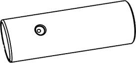 【最安値挑戦中!最大25倍】トイレ関連部材 INAX/LIXIL CWA-223 シャワートイレ用付属おしり用ノズル先端 リフレッシュサティスDWV10型用 ホワイト [◇]
