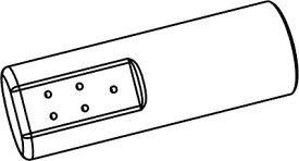 【最安値挑戦中!最大25倍】トイレ関連部材 INAX/LIXIL CWA-224 シャワートイレ用付属ビデ用ノズル先端 リフレッシュサティスDWV10型用 ホワイト [◇]