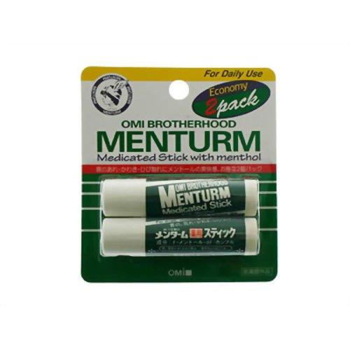 【医薬部外品】【近江兄弟社】メンターム薬用スティックレギュラー 2個パック