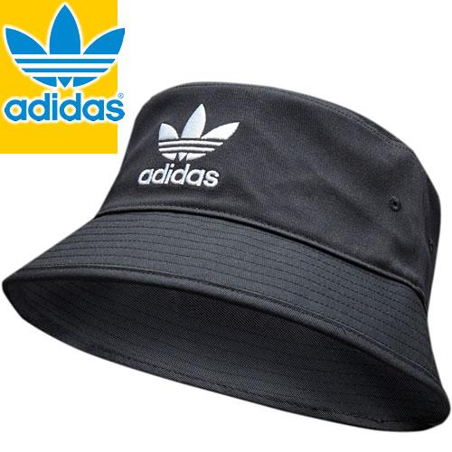 アディダス adidas 帽子 ハット バケットハット キャップ メンズ レディース アウトドア ブランド ロゴ 大きいサイズ おしゃれ AD Cotton Bucket Hat 186711605 [メール便発送]