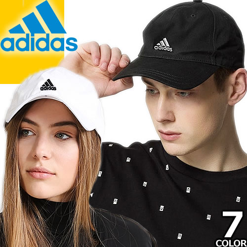 アディダス adidas コットンツイルキャップ 166711641 メンズ レディース 6P CAP [メール便発送]