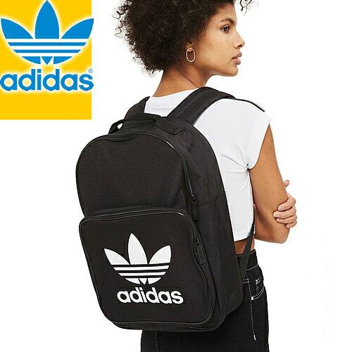 アディダス リュックサック バックパック レディース メンズ ブラック ホワイト ネイビー 黒 通学 オリジナルス adidas Originals BACKPACK CLASSIC TREFOIL