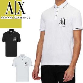 アルマーニ エクスチェンジ ARMANI EXCHANGE Tシャツ メンズ 半袖 ブランド 大きいサイズ クルーネック 丸首 プリント 無地 白 黒 ホワイト ブラック 8NZT72 Z8H4Z [メール便発送]