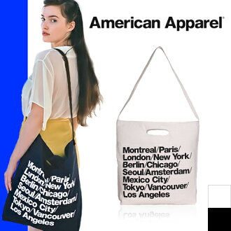 American apparel American Apparel tote bag city bag 2way shoulder