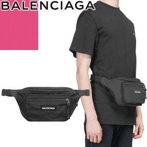 バレンシアガ BALENCIAGA バッグ ボディバッグ ウエストポーチ ウエストバッグ ベルトバッグ メンズ レディース 2020年秋冬新作 エクスプローラー ナイロン ブランド かっこいい 横型 黒 ブラッ