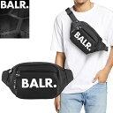 ボーラー BALR. ウエストポーチ ウエストバッグ ボディバッグ ベルトバッグ 鞄 メンズ 2020年秋冬新作 ブランド かっこいい ナイロン 黒 ブラック U-SERIES WAIST PACK B10030 [S]