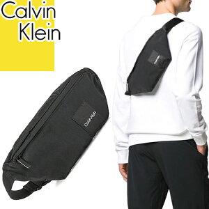 カルバンクライン Calvin Klein バッグ ボディバッグ ウエストバッグ ウエストポーチ メンズ 2020年春夏新作 ブランド 軽量 斜めがけ 黒 ブラック ITEM STORY WAISTBAG K50K504778 BDS [ネコポス発送]