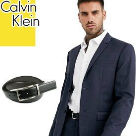 カルバンクライン Calvin Klein ベルト メンズ 2020年春夏新作 リバーシブル ブランド ビジネス 黒 ブラック ブラウン REVERSIBLE BELT 75661 [S]