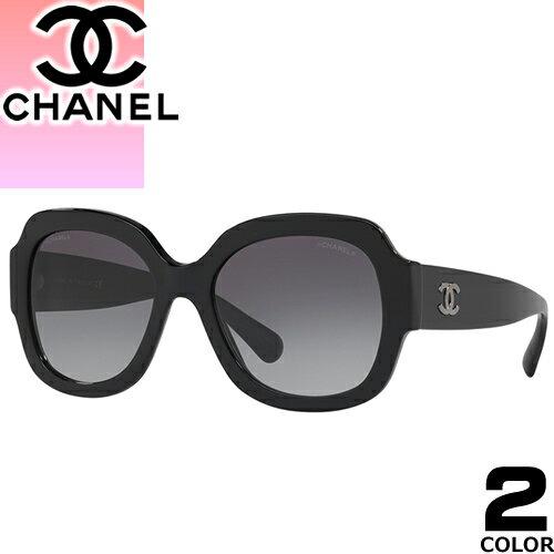 シャネル CHANEL サングラス 新作 レディース メンズ ブランド UVカット 薄い 色 紫外線対策 ウェリントン 5373A 1416/3D 501/S6 [S]