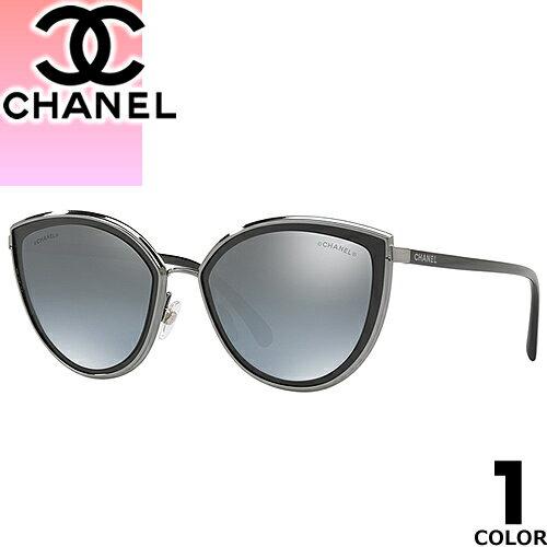 シャネル CHANEL サングラス 新作 レディース メンズ ブランド 丸 UVカット 薄い 色 紫外線対策 フォックス 4222 471/W6 [S]