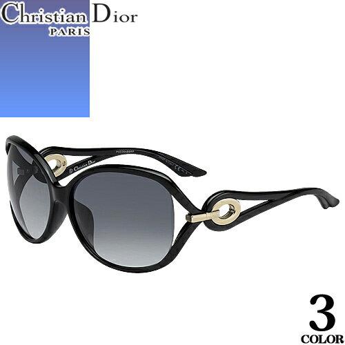 ディオール Christian Dior サングラス レディース ブランド 丸 UVカット 薄い 色 紫外線対策 VOLUTE2F [S]