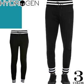 ハイドロゲン Hydrogen パンツ スウェットパンツ メンズ ボトムス ジョガーパンツ リラックスパンツ ブランド 大きいサイズ 裏起毛 黒 白 スカル カジュアル SWEATPANTS 230646 [S]