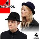 カンゴール KANGOL ハット 帽子 メンズ レディース ワンポイント ロゴキャップ 中折れ ソフトハット ウール カジュア…