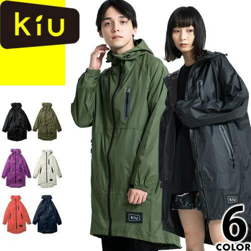 kiu キウ レインポンチョ K28 レインコート ジップアップ レディース メンズ 自転車 かわいい おしゃれ 通学 通勤 ポンチョ 雨がっぱ 雨合羽 [メール便発送]