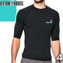 レイトンハウス メンズ ラッシュガード 半袖 UVカット 大きいサイズ LEYTON HOUSE LRT-303 [メール便発送]