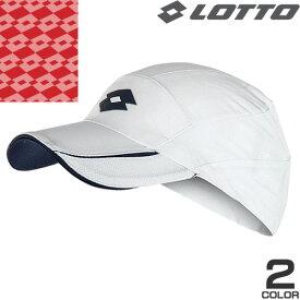 ロット キャップ 帽子 メンズ レディース ブランド メッシュ 大きいサイズ 夏用 おしゃれ 折りたたみ uv スポーツキャップ ゴルフ ランニング ウォーキング テニス 白 紺 Lotto L54671 [メール便発送]