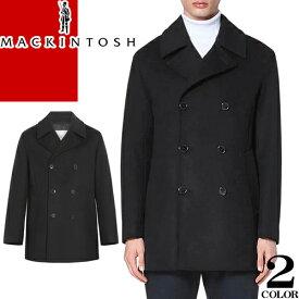 マッキントッシュ MACKINTOSH コート Pコート ウールコート メンズ ブルーム BROOM ブランド ウール 大きいサイズ 冬 暖かい カジュアル ビジネス 黒 ブラック ネイビー GM-1017F