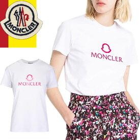 モンクレール MONCLER ポロシャツ レディース 2020年春夏新作 ブランド 鹿の子 半袖 かわいい 白 ホワイト 8386000 84667 [ネコポス発送]
