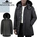 MOOSEKNUCKLES(ムースナックルズ),ダウンジャケット,メンズ,ブラック,MK4661MP,291