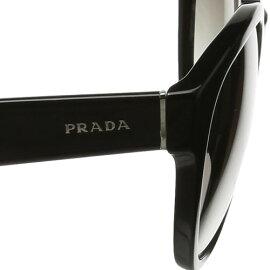 プラダPRADAサングラスレディースメンズブランド丸UVカット薄い色紫外線対策ボストン18RSF2AU3D01AB07[S]