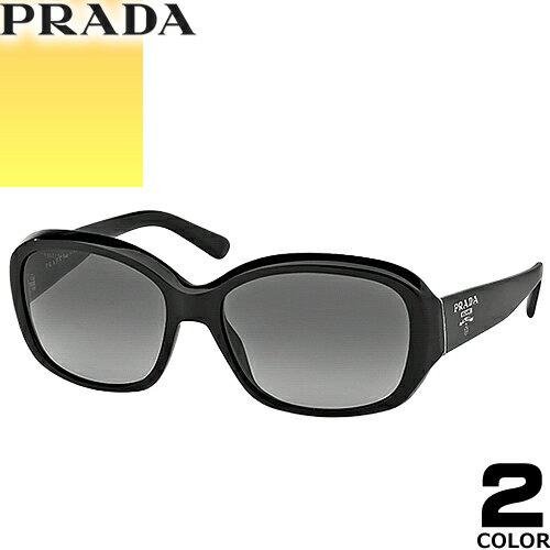 プラダ PRADA サングラス 国内正規品 レディース メンズ uvカット 黒縁 薄い色 ブランド 紫外線 ケース付き スクエア 31NSA 2AU8C1 1AB3M1 [S]