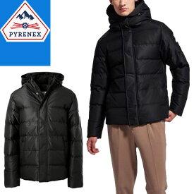 ピレネックス PYRENEX スプートニックジャケット マット ダウン ダウンジャケット メンズ 2020年秋冬新作 フード付き ブランド 大きいサイズ 撥水 暖かい 紺 ネイビー SPOUTNIC MAT HMO009