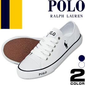 ポロ ラルフローレン スニーカー レディース スリッポン 靴 白 紺 ホワイト ネイビー キャンバス ブランド おしゃれ 歩きやすい Polo Ralph Lauren GIBBS