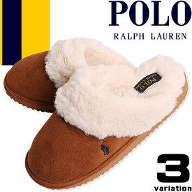 [最終SALE7,590円→2,990円] ポロ ラルフローレン サンダル スリッパ ルームシューズ レディース ボア ファー 冬 暖かい おしゃれ かわいい もこもこ あったか Polo Ralph Lauren CHARLOTTE