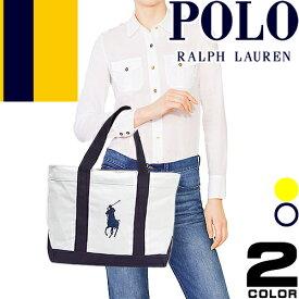 ポロ ラルフローレン Polo Ralph Lauren トートバッグ ビッグポニー ファスナー 国内正規品 レディース メンズ キャンバス 大きめ a4 ブランド CAMINO TOTE [S]