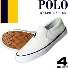 ポロ ラルフローレン スニーカー シューズ 靴 レディース スリッポン 白 黒 ホワイト ブラック ネイビー ベージュ 軽量 歩きやすい ブランド おしゃれ 疲れにくい キャンバス Polo Ralph Lauren Carver
