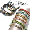 シャシ ブレスレット アンクレット 2本セット Shashi 2R Nugget Bracelet ワカミ wakami チャンルー CHAN LUU好きにも…