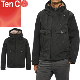TenC(テンシー),TEMPESTANORAK(テンペストアノラック),17CTCUC04055,ブラック,イタリア軍,ミルスペック同等,OJJ,超高密度ナイロンベンタイルミリクロス