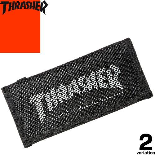 スラッシャー THRASHER THRSG-112 長財布 メンズ レディース ブランド 黒 ウォレット 薄型 薄い シンプル [メール便発送]