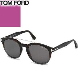 トムフォード TOM FORD サングラス メンズ レディース ブランド 薄い 色 uvカット おしゃれ かわいい ラウンド 紫外線対策 日焼け防止 TF0515 FT0515 [S]