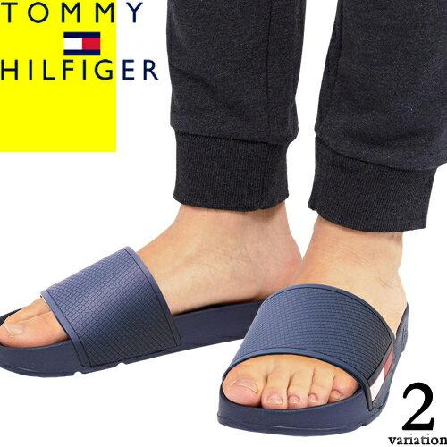 トミーヒルフィガー サンダル シャワーサンダル スポーツサンダル メンズ ブランド 歩きやすい おしゃれ グレー ネイビー TOMMY HILFIGER EBNER