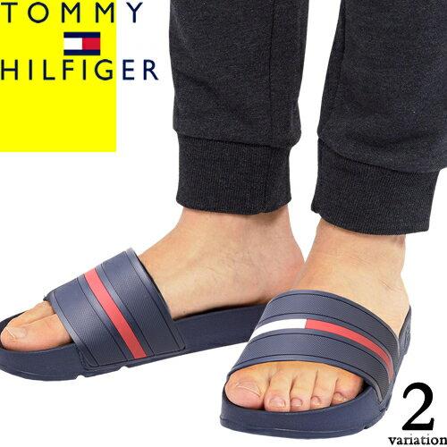 トミーヒルフィガー サンダル シャワーサンダル スポーツサンダル メンズ ブランド 歩きやすい おしゃれ グレー ネイビー TOMMY HILFIGER ENNIS