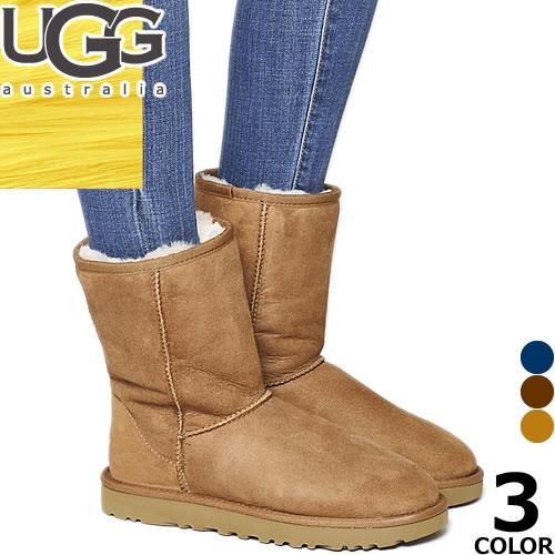 [最終SALE28,080円→16,980円] UGG アグ ムートンブーツ クラシック ショート 正規品 レディース スノーブーツ Classic Short 防滑 防寒 雪 靴 滑らない
