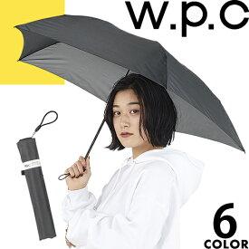 wpc w.p.c 折りたたみ傘 軽量 2019年モデル レディース メンズ 雨傘 超軽量 コンパクト 撥水 丈夫 無地 かわいい ブランド Super Air Light 70g [メール便発送]