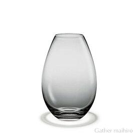 ホルムガード HOLMEGAARDコクーン ベース スモーク H17cm ( S ) 4343344COCOON VASE WHITE 吹きガラス 花瓶 ガラス ベース 北欧 花びん