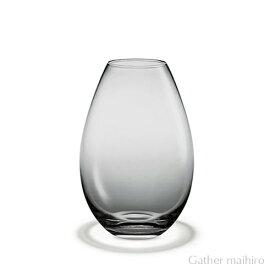 ホルムガード HOLMEGAARDコクーン ベース スモーク H20.5cm ( M ) 4343345COCOON VASE WHITE 吹きガラス 花瓶 ガラス ベース 北欧 花びん