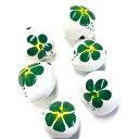 ククイ キャンドルナッツ 新色 白地 ククイ 緑【0208】 5個セット(5個入)白地 くくい くくいなっつ ハワイアンリボ…