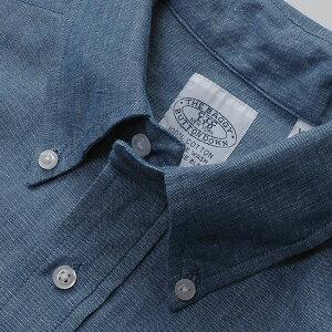 送料無料BAGGY【バギー】半袖シャンブレーシャツブルー半袖シャツメンズ(男性用)