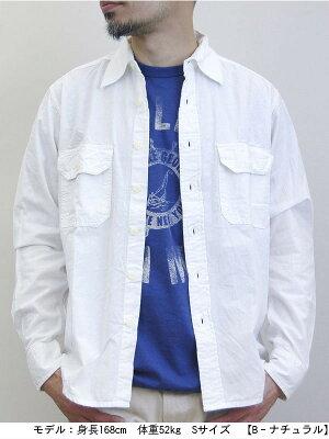 ベストセラー送料無料CAMCO【カムコ】長袖シャンブレーシャツワークシャツフラップポケット仕様S-LL(XL)長袖シャツメンズアメカジ【smtb-m】