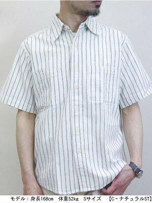 ベストセラー送料無料CAMCO【カムコ】半袖シャンブレーシャツワークシャツ半袖シャツメンズアメカジ【smtb-m】
