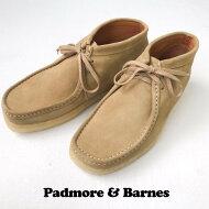 送料無料PADMORE&BARNES【パドモアアンドバーンズ】スウェードワラビーチャッカブーツ【smtb-m】